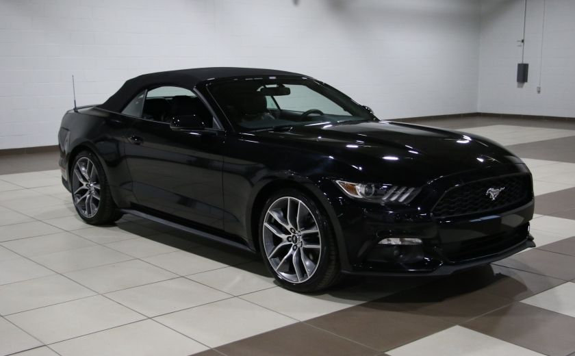 2016 Ford Mustang EcoBoost Premium AUTO A/C CUIR CONVERTIBLE NAVIGAT #0