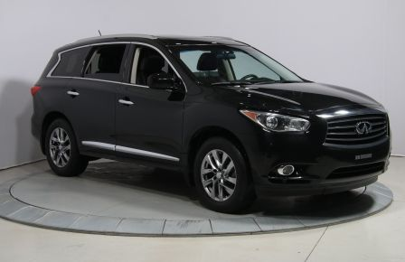 2013 Infiniti JX35 AWD CUIR TOIT MAGS 7PASSAGERS BLUETOOTH #0