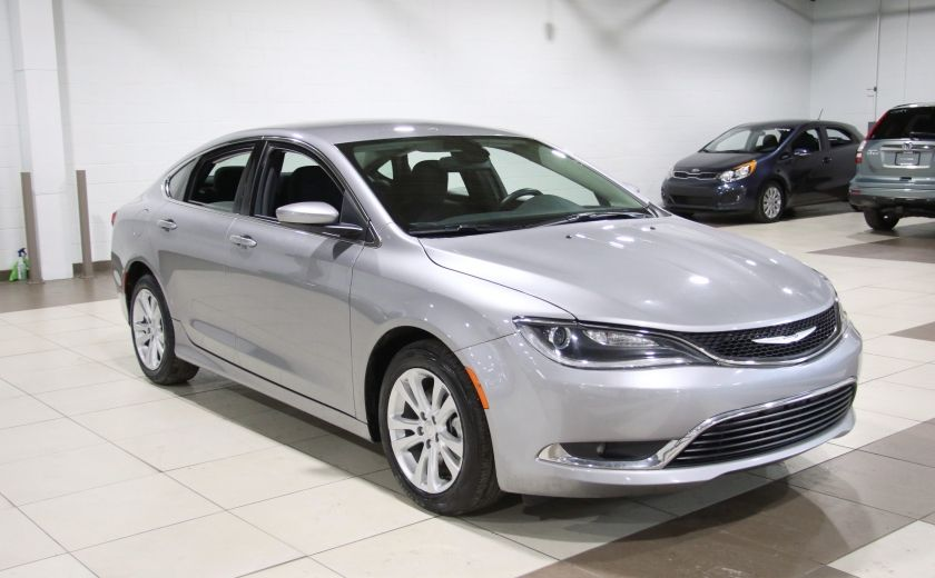 2016 Chrysler 200 Limited A/C GR ELECT MAGS BLUETOOTH #0