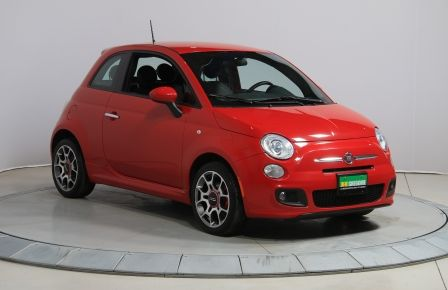 2015 Fiat 500 Sport AUTO A/C GR ELECT MAGS #0