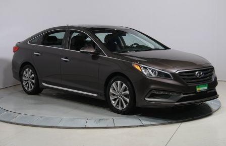 2015 Hyundai Sonata 2.4L Sport A/C TOIT MAGS BLUETOOTH #0