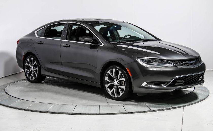 2016 Chrysler 200 C CUIR TOIT NAV MAGS BLUETOOTH #0