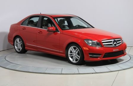 2013 Mercedes Benz C300 4MATIC AUTO CUIR TOIT MAGS BLUETOOTH #0