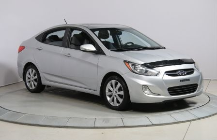 2013 Hyundai Accent GLS AUTO MAGS TOIT AC GR ELEC #0