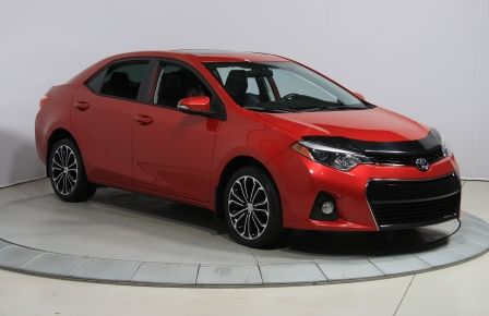 2014 Toyota Corolla S CVT CUIR-TISSUS TOIT BLUETOOTH HID #0