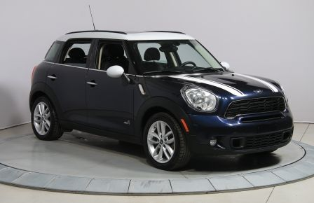2013 Mini Cooper S ALL4 AUTO CUIR TOIT MAGS BLUETOOTH #0