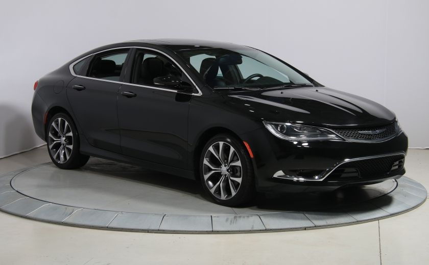 2016 Chrysler 200 C AUTO CUIR TOIT PANO MAGS BLUETOOTH #0