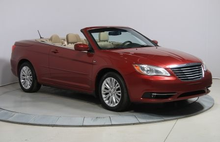 2011 Chrysler 200 Touring A/C MAGS CONVERTIBLE #0