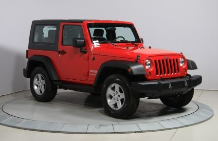 2010 Jeep Wrangler 4WD A/C 2TOITS MAGS #0