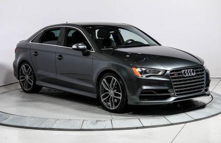 2015 Audi S3 2.0T  QUATTRO AUTO CUIR TOIT MAGS BLUETOOTH #0