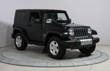 2010 Jeep Wrangler SAHARA 4WD 2 TOITS #0