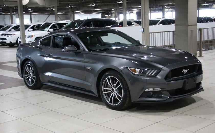 2016 Ford Mustang GT Premium AUTO A/C CUIR MAGS CAMÉRA DE RECUL #0