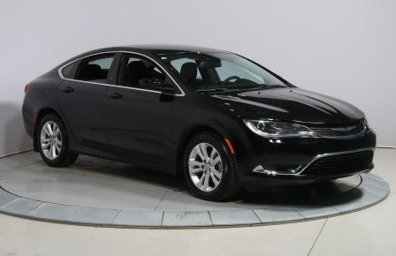 2015 Chrysler 200 Limited A/C GR ELECT MAGS BLUETOOTH #0