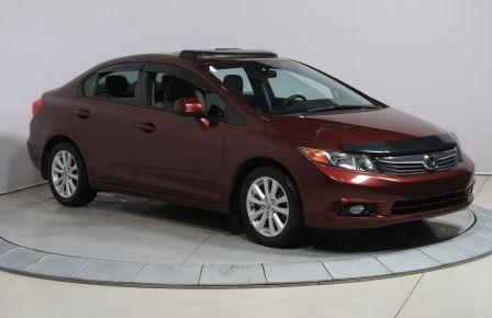 2012 Honda Civic EX-L AUTO CUIR TOIT NAVIGATION MAGS BLUETOOTH #0