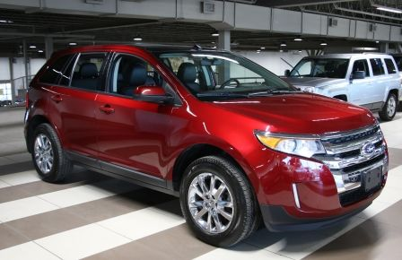 2014 Ford EDGE SEL AWD CUIR TOIT NAVIGATION MAGS CAM.RECUL #0