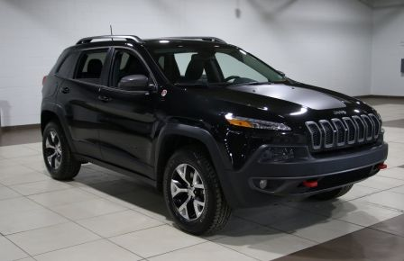 2016 Jeep Cherokee TRAILHAWK AWD V6 CUIR TOIT PANORAMIQUE NAVIGATION #0