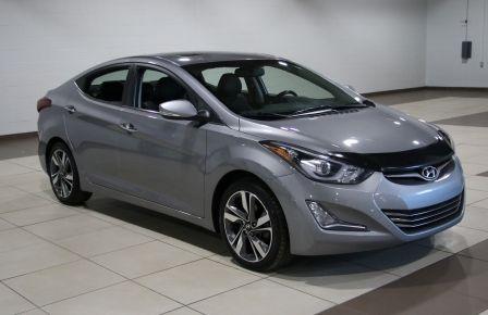 2014 Hyundai Elantra LIMITED MAGS TOIT CUIR BLUETOOTH GR ELECT #0