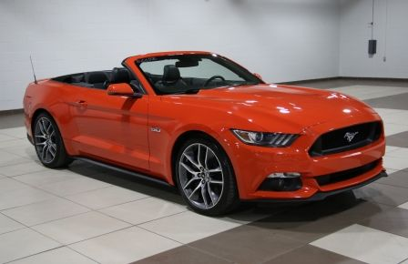 2015 Ford Mustang CONVERTIBLE GT PREMIUM 6 VITESSESCUIR MAGS 20