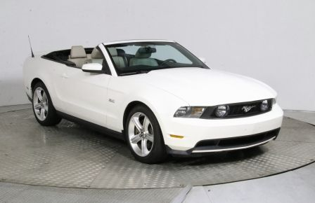 2012 Ford Mustang GT CUIR CONVERTIBLE MAGS BLUETOOTH #0