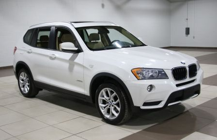 2013 BMW X3 28i X DRIVE AWD CUIR TOIT PANORAMIQUE MAGS #0