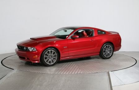 2010 Ford Mustang GT CUIR TOIT PANO MAGS #0
