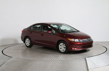 2012 Honda Civic LX AUTOMATIQUE A/C BLUETOOTH GR ELECTRIQUE #0