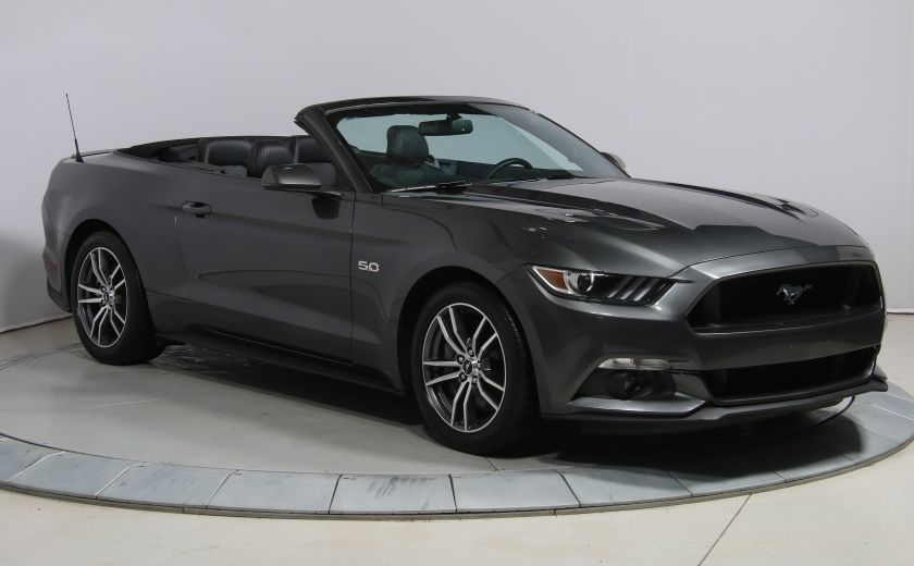 2016 Ford Mustang CONVERTIBLE GT PREMIUM AUTO A/C CUIR NAVIGATION #0