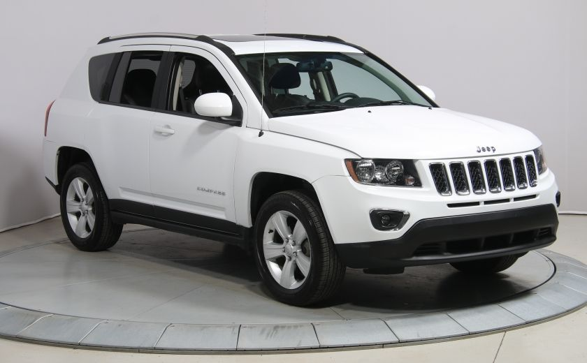 2016 Jeep Compass HIGH ALTITUDE AUTO A/C MAGS TOIT CUIR BLUETOOTH #0