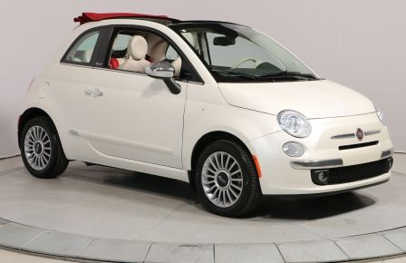 2013 Fiat 500 LOUNGE CONVERTIBLE BLUETOOTH CUIR MAGS #0