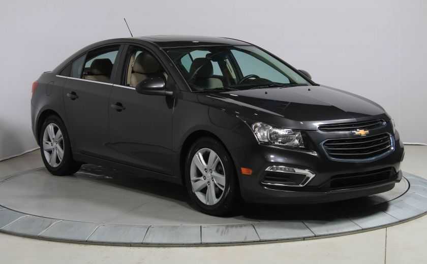 2015 Chevrolet Cruze DIESEL AUTO A/C CUIR TOIT MAGS #0