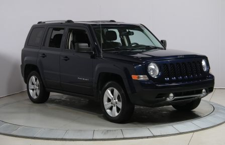2013 Jeep Patriot LIMITED 4WD AUTO A/C CUIR MAGS BLUETOOTH #0