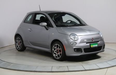 2015 Fiat 500 SPORT AUTO A/C MAGS CUIR BLUETOOTH GR ELECT #0
