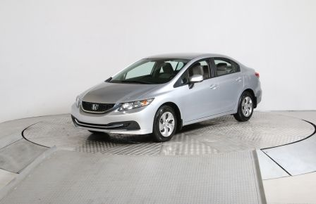 2013 Honda Civic LX AUTO A/C BLUETOOTH #0