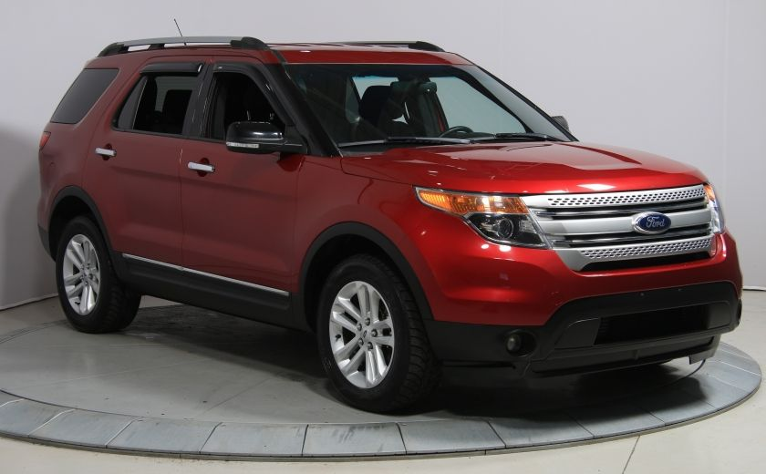 2014 Ford Explorer XLT AWD A/C BLUETOOTH 7 PASSAGERS #0