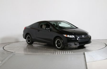 2013 Honda Civic LX COUPE AUTO A/C GR ÉLECT MAGS BLUETHOOT BAS KILO #0