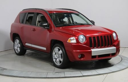 2010 Jeep Compass LIMITED 4WD A/C NAV CUIR MAGS #0
