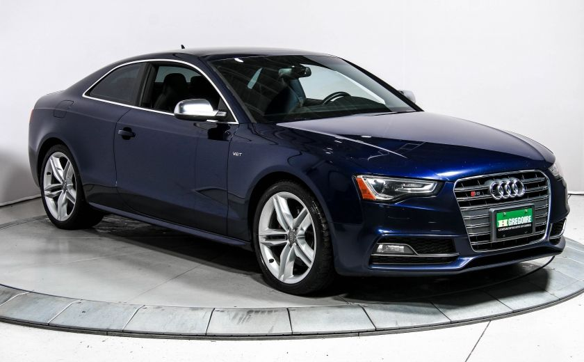2014 Audi S5 S5 Technik Quattro Auto GPS Cuir Toit Bluetooth #0