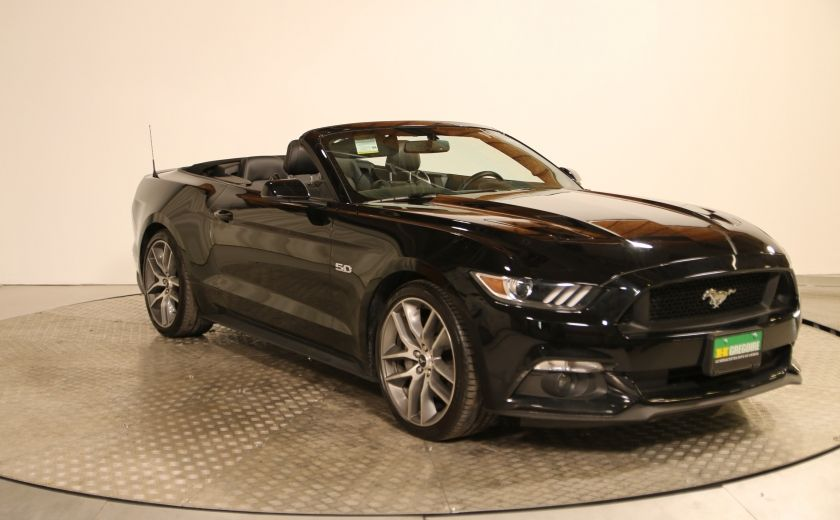 2016 Ford Mustang GT PREMIUM CONVERTIBLE AUTO A/C CUIR  NAVIGATION M #0