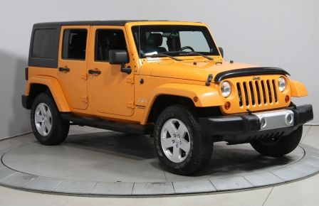 2012 Jeep Wrangler Unlimited SAHARA A/C MAGS GR ELECTRIQUE #0