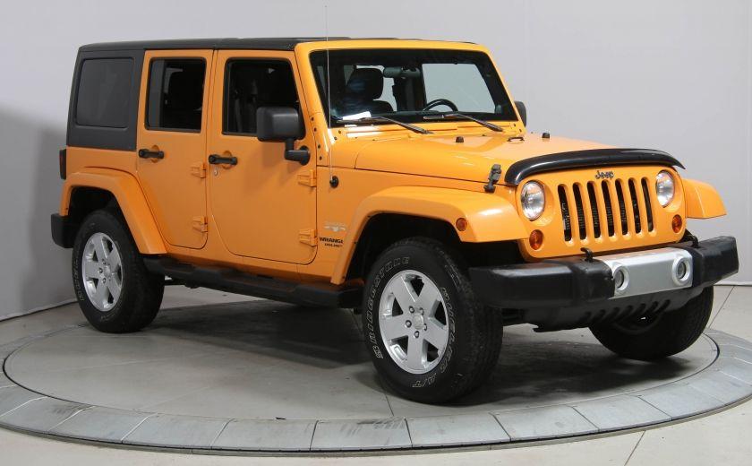 2012 Jeep Wrangler SAHARA A/C MAGS GR ELECTRIQUE #0