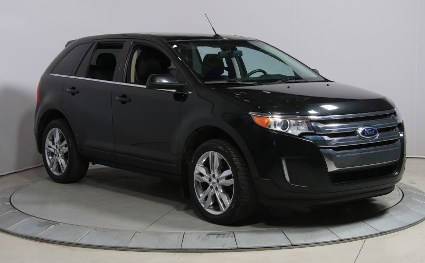 2014 Ford EDGE LIMITED AWD TOIT CUIR MAGS #0