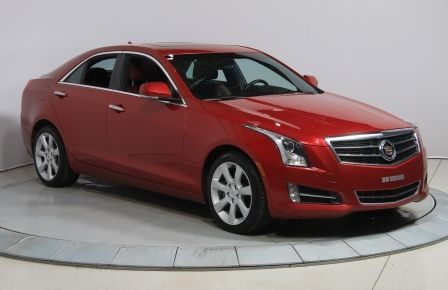 2013 Cadillac ATS 3.6 PERFORMANCE AWD V6 CUIR ROUGE TOIT NAVIGATION #0