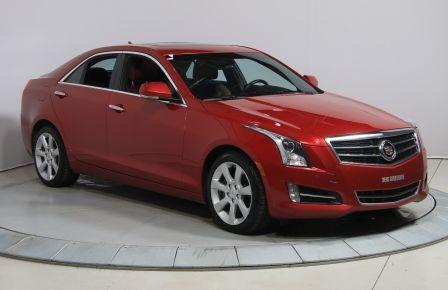 2013 Cadillac ATS 3.6 PERFORMANCE AWD V6 CUIR ROUGE TOIT NAVIGATION #0