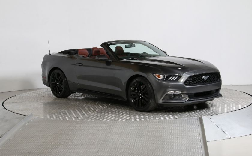 2016 Ford Mustang CONVERTIBLE ECOBOOST PREMIUM AUTO A/C CUIR NAVIGAT #0