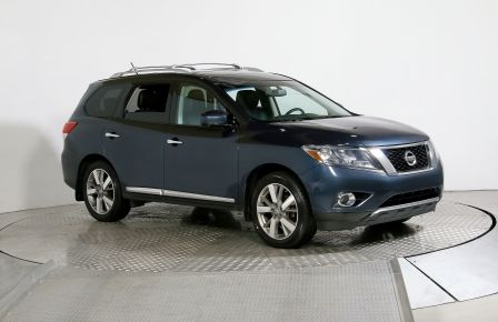 2014 Nissan Pathfinder PLATINUM AWD CUIR TOIT PANORAMIQUE CAMERA 360 DVD #0