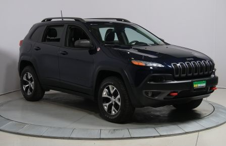 2016 Jeep Cherokee TRAILHAWK 4WD CUIR TOIT PANO NAVIGATION MAGS CAMÉR #0