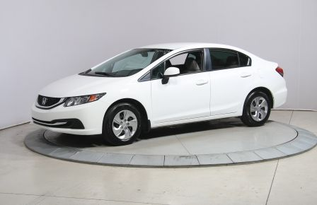 2013 Honda Civic LX AUTO A/C BLUETOOTH BANC CHAUFFANT #0