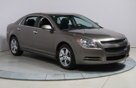 2012 Chevrolet Malibu LT PLATINUM EDITION A/C BLUETOOTH GR ELECT #0