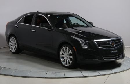 2013 Cadillac ATS LUXURY AWD AUTO A/C CUIR ROUGE TOIT NAV MAGS BLUET #0