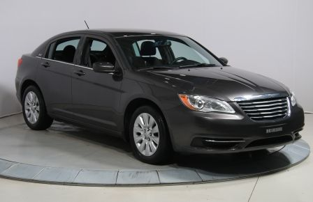 2014 Chrysler 200 LX A/C BLUETOOTH GR ELECT #0